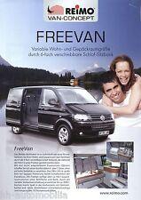 Prospekt Reimo FreeVan Freevan Reisemobil 2007 brochure Wohnmobil VW T5