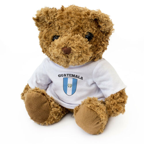NEW - GUATEMALA FLAG Teddy Bear - Cute Soft Cuddly - Gift Present Xmas BIrthday