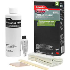 3M bondo FIBERGLASS RESIN REPAIR KIT 420 STAGE 2 DIY with Easy How-To Directions