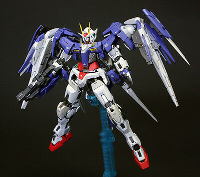 Bandai RG 1 144 Gundam 00 Raiser Exia Anime Mecha Robot Model Kit Sword Gun Toy