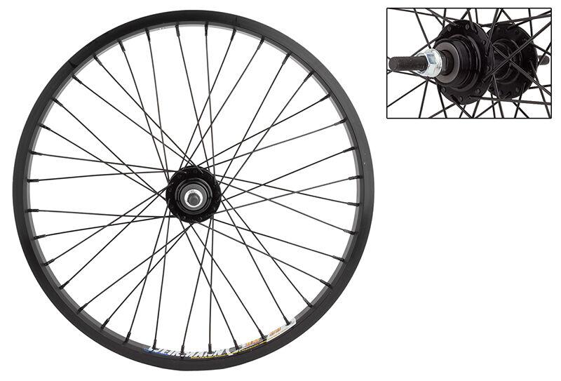 20  bmx bike REAR wheel WEINMANN DM30 36H Alloy 3 8  Nut FLIP FLOP HUB
