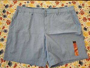 """FOUNDRY YOUNG MEN/'S COMFORT STRETCH FLEX FLAT FRONT SHORTS 10/"""" INSEAM"""