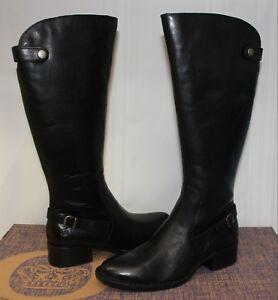Cupra Black Full Grain leather boots
