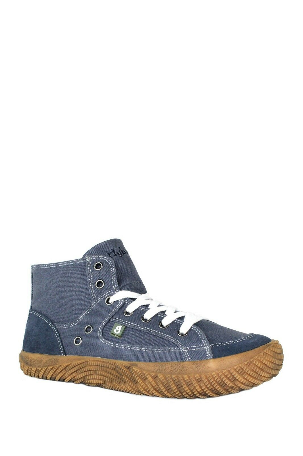 Hybrid Green Label shoes Size US MEN 7 Navy NEW IN BOX Fearless High-Top Sneaker