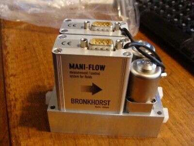 New old stock Bronkhorst Mani-flow 2-Channel manifold MIC-201F