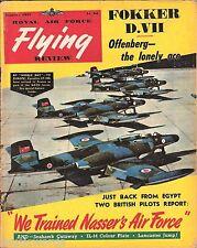 RAF FLYING REVIEW JAN 57: SEA HAWK CUTAWAY/ NATOs CF-100s/ Bv222 VIKING/ IL-12