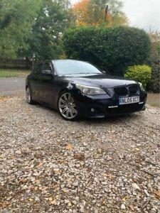 BMW-535d-M-Sport-E60-Saloon-Black-Low-miles