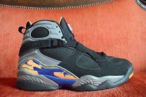 5cd9418910e5 Nike Air Jordan 8 VIII Retro Phoenix Suns Size 9.5 2013 305381 043 9 ...