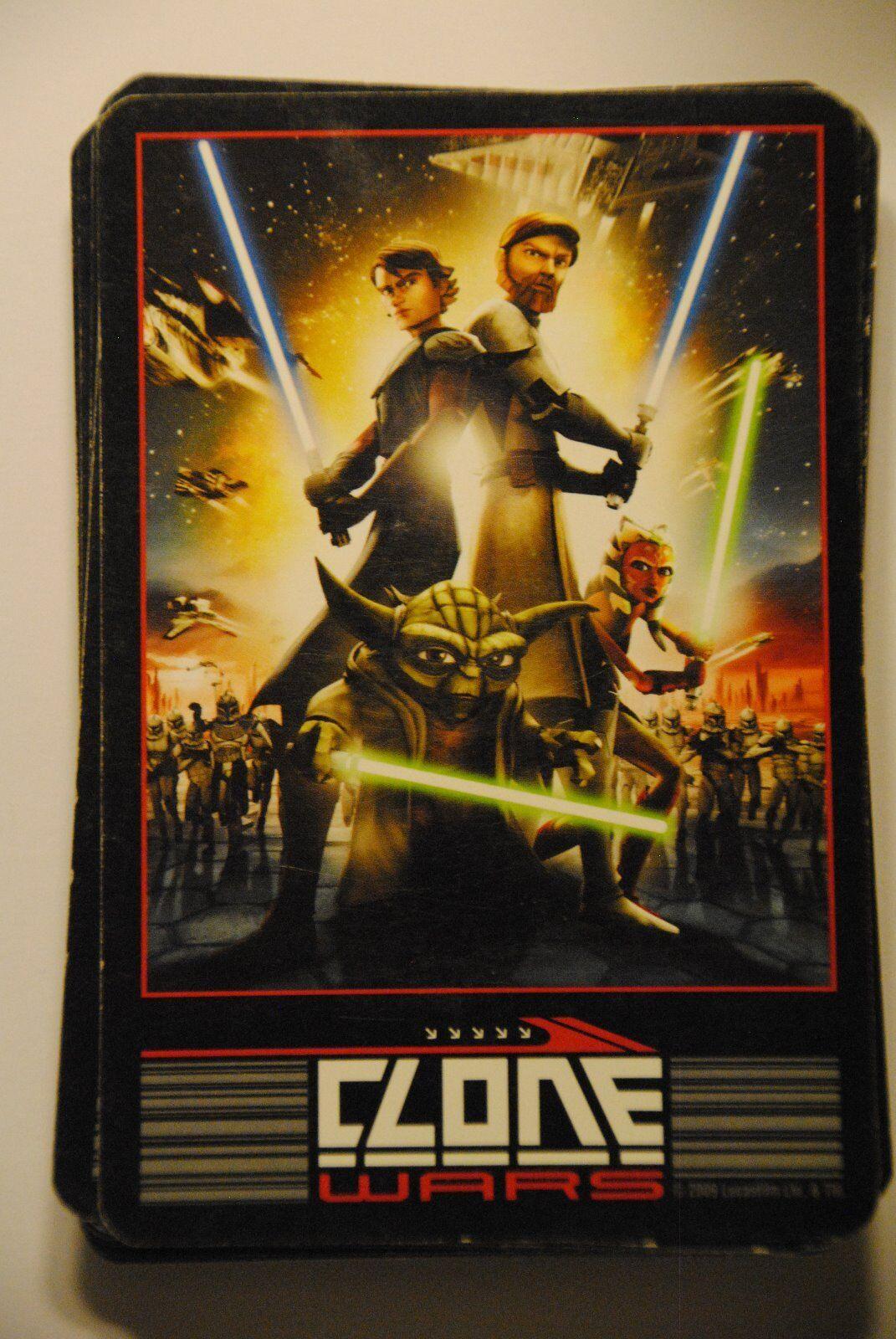 Das Star Wars The Clone Wars 3-Card Match Game Cartamundi Kinder Kartenspiel