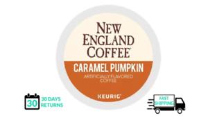 New England Caramel Pumpkin Keurig Coffee 24 Count k-cups
