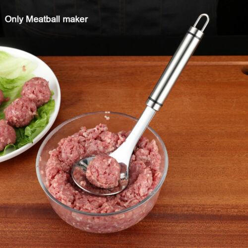 Meatball Maker Spoon Non Stick thick Stainless Steel Meat Baller Kitchen Utensil