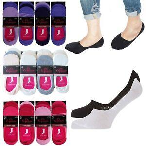 100% Wahr 4, 6 Or 12 Pairs Mens Ladies Cotton Rich Invisible Socks Trainer Liners 4-7 6-11 Ausreichende Versorgung