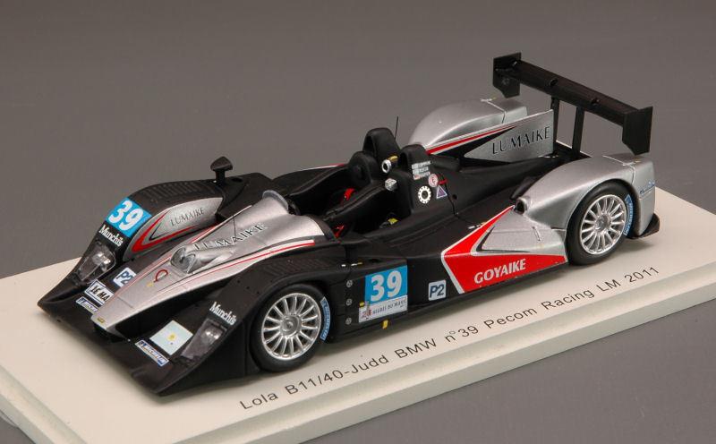 Lola b11/40 - Judd Bmw  39 LM 2011 1:43 MODEL s2531 SPARK MODEL