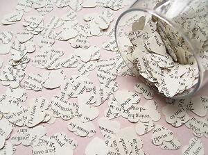 Novel-Book-Heart-Confetti-26-Book-Choices-Wedding-Table-Decoration-Hearts