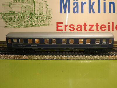 (i6) Märklin Vagone Letto Illuminato Condizione Usato Esaminato (k1)-mostra Il Titolo Originale Moda Attraente