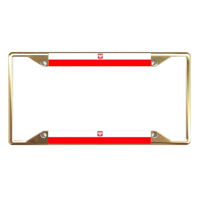 YEMEN FLAG BLACK COUNTRY Metal License Plate Frame Tag Holder Two Holes