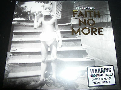 Faith No More Sol Invictus Digipak CD PIASL154CD - New
