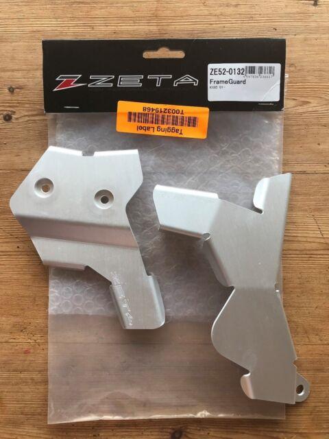Kawasaki KX 85 2001-2020 ZETA Aluminium Cadre Protection Gardes