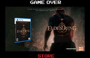 Elden Ring Ps5 Playstation 5 Nuovo ITA Videogame Promo Pre Order Copertina ITA