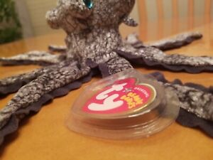 TY BEANIE BABIES BABY 2004 OPIE THE OCTOPUS MINT plastic tag cover
