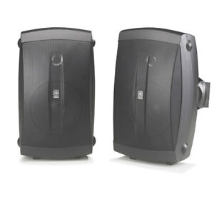 Yamaha-NSAW150-Black-Pr-2-way-Indoor-Outdoor-Speakers