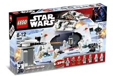 Lego 7666 Star Wars Hoth Rebel Base Complete w/ Manual Great Early Set Read Des