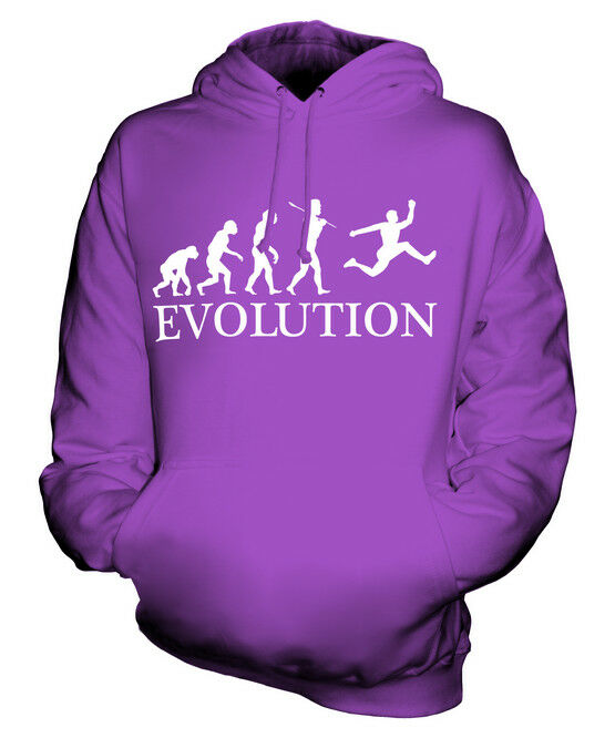 TRIPLE JUMP EVOLUTION OF MAN UNISEX HOODIE  Herren Damenschuhe LADIES GIFT ATHLETICS