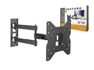 Lcd-Led-Plasma-Tv-Tilt-Swivel-Double-Arm-Wall-Mount-Bracket-17-034-42-034-200x200mm