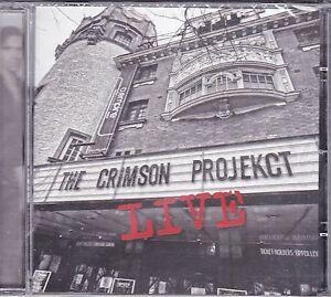 CD-Compact-disc-THE-CRIMSON-PROJEKCT-LIVE-nuovo-sigillato