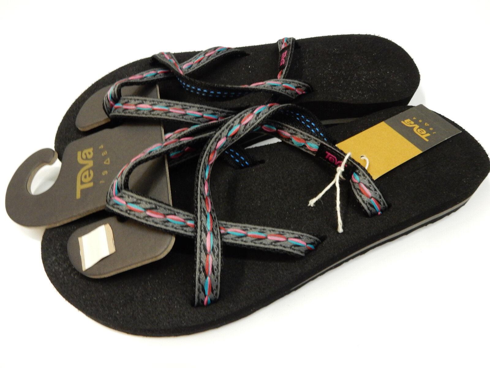 782b8d67017c5c Teva 6840 Fblck Olowahu Felicitas Black Women s Sandals 10 US for sale  online