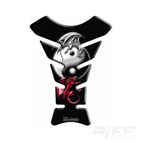 Motorrad Tank Pad Protektor Schutz Keiti universal Yin /& Yang Mysterious Bat