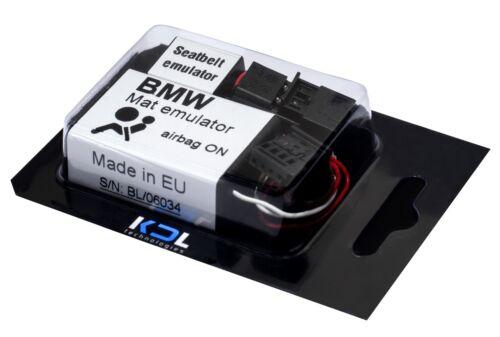 SEAT OCCUPANCY SENSOR bypass for BMW E60 E61 mat emulator SEAT BELT easy install