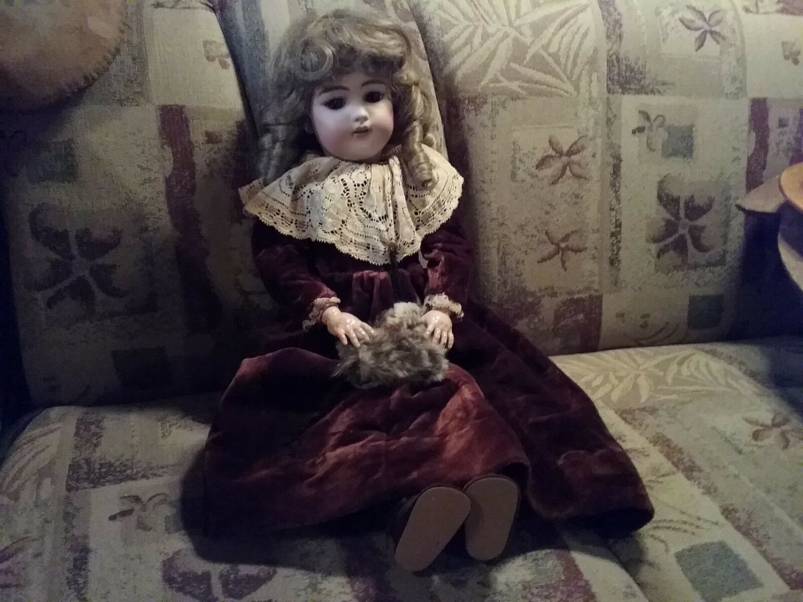 Made in Germany Simon Halbig Bisque Head Doll  1079