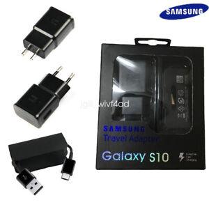 Detalles de Original Samsung Galaxy S10 TA200 cargador rápido tipo C Cable S10e S10 + S9 S8