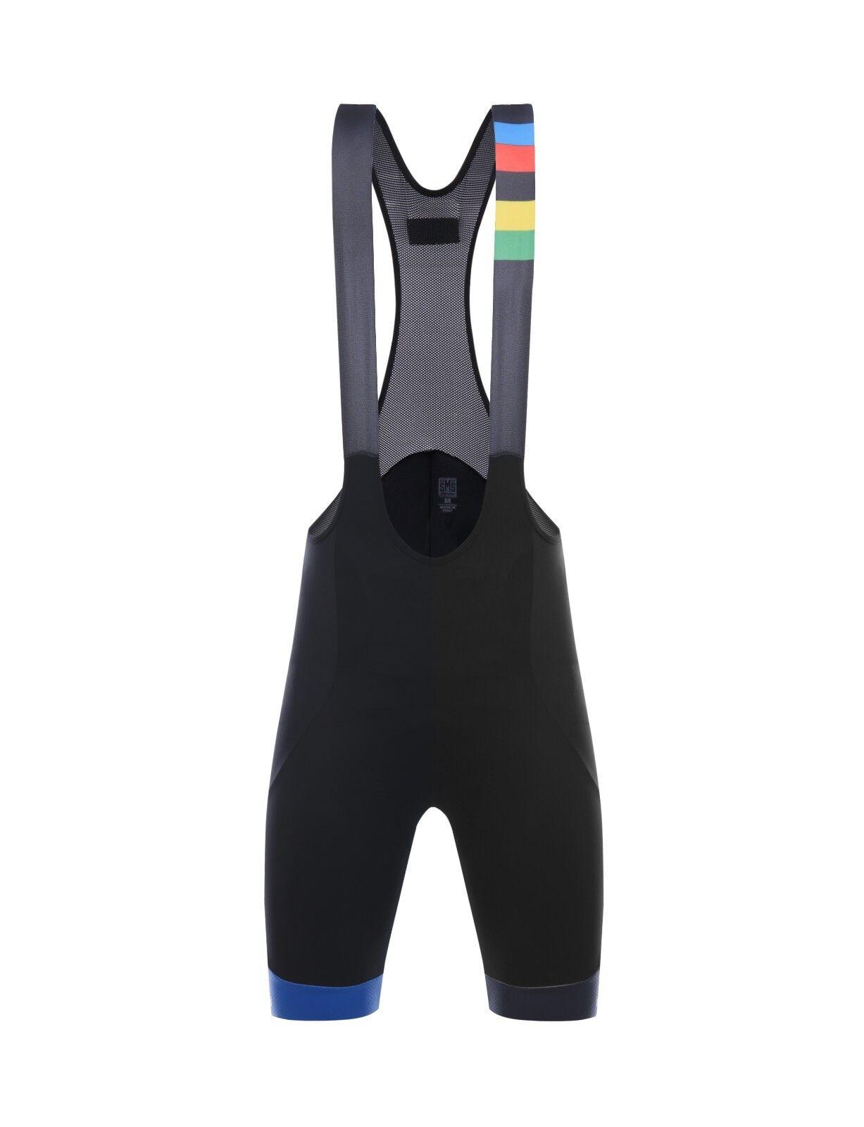 2018 UCI LA DAMA white CYCLING Bib  Shorts - Made in  by Santini  enjoying your shopping