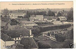 71-cpa-PARAY-LE-MONIAL-Jardin-de-la-Visitation-i-4869