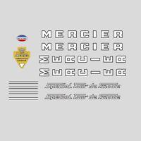 Mercier Special Tour de France Bicycle Frame Stickers - Decals n.0629