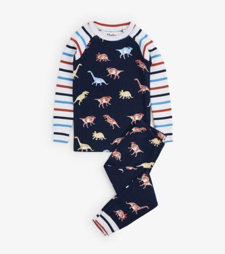 *BNWT Hatley Boys Girls Glowing Fossils Glow In The Dark Pyjamas Organic Cotton