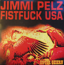 "JIMMI PELZ FISTFUCK USA Unter Geiern 7""Vinyl (2000 Traum-A) red vinyl"