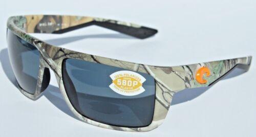 COSTA DEL MAR Motu 580 POLARIZED Sunglasses Realtree Xtra Camo//Gray 580P NEW