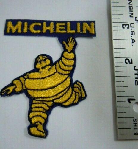 "Diecut Embroidered Iron On Uniform-Jacket Patch 3  x 2/"" Michelin Man"
