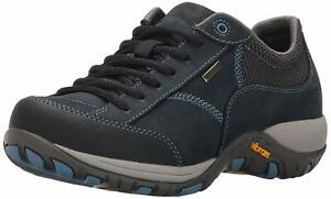 Women-039-s-Dansko-Portland-Sneakers-Paisley-Navy-Milled-Nubuck