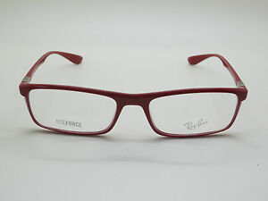 af021f8770 NEW Authentic Ray Ban RB 7035 5435 LITEFORCE Shiny Red 54mm RX ...