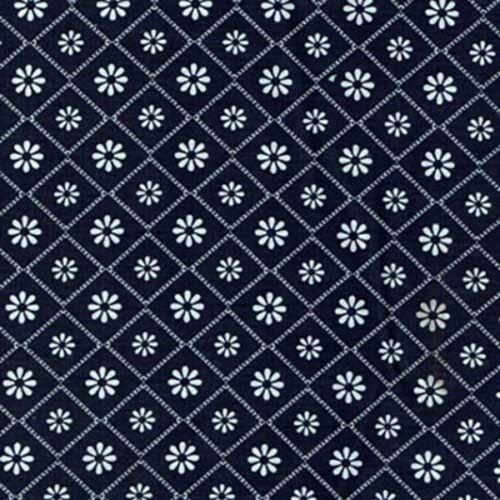 Daisy Tile Squares Floral Flowers Daisies Petals 100/% Cotton Fabric