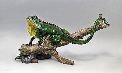 Personaggio Lizard Colorate Su Ast Resin Plastica Nuovo 9977282-