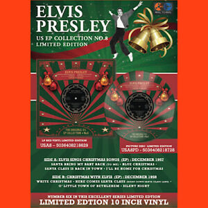ELVIS-PRESLEY-US-EP-COLLECTION-VOLUME-8-10-vinyl-picture-disc-LTD-christmas