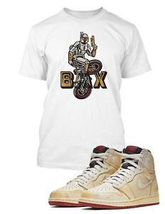 more photos 232b1 6bc61 Details about Mens BMX Graphic T Shirt to Match Nigel Sylvester x Air  Jordan 1