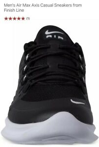 Details about Nike Air Max Axis Shoes BlackWhite Running Sneakers Men's 7.5