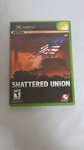 Shattered-Union-Microsoft-Xbox-2005-Complete-Game-Disc-Case-amp-Manual