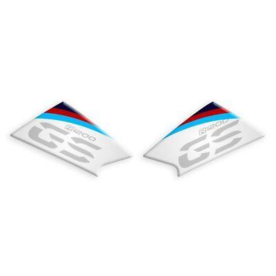 ADESIVI LATERALI PROTETTIVI RESINATI NERO PER BMW R 1200 GS 2013-2016